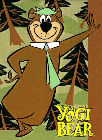 Personnes célèbres réelles ou imaginaires - Page 3 Yogi-bear-1958