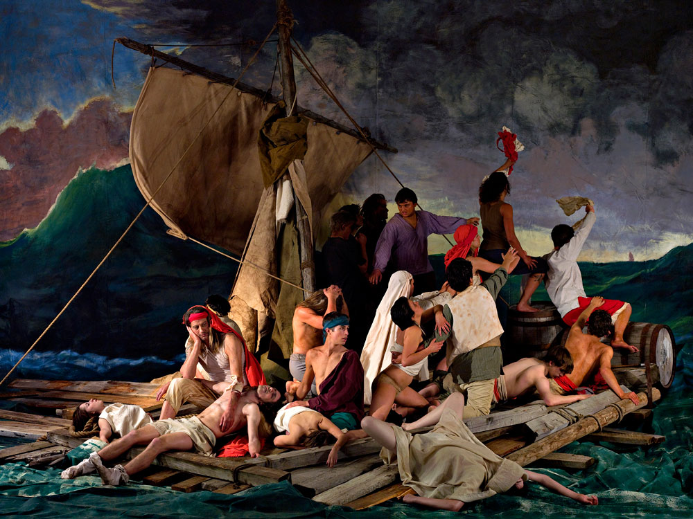 Adad Hannah, The Raft of the Medusa (100 Mile House) 8, 2009