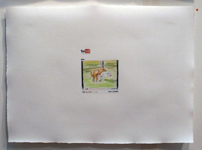 Admir Jahic & Comenius Roethlisberger, You Tube Drawing, 2009