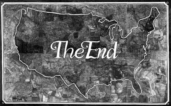 Aleksandra Mir, The End, 2005