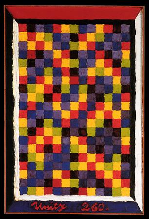 Alfred Jensen, Itzamna, 1962