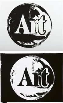 Andy Warhol, Art (Positive and Negative), 1986