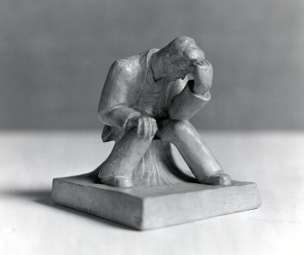 Anthony Caro, The Thinker, 1942