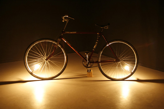 Ariel Schlesinger, Low Potential Disturbance (bicycle), 2008