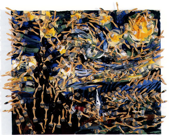 Arman, Les couleurs de la nuit, 1993