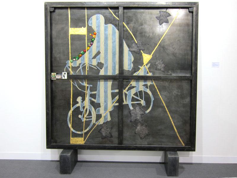 Atul Dodiya, Picnic with Picabia, 2010
