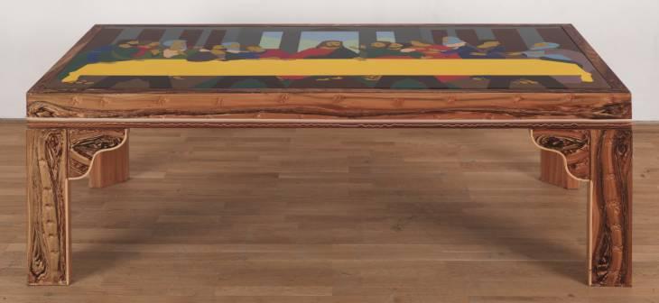 Beatriz Gonzalez, La ultima mesa, 1970