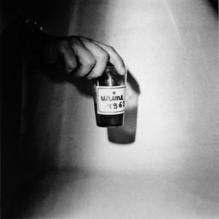 Ben Vautier, Urine, 1962, photography
