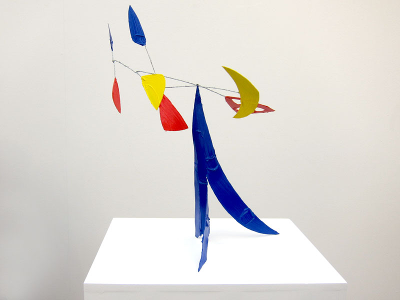 Bertrand Lavier, Composition rouge, jaune et bleue, 2010