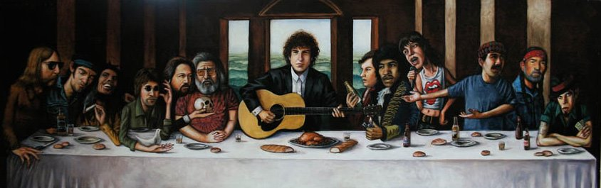 Bob Dylan Last Supper