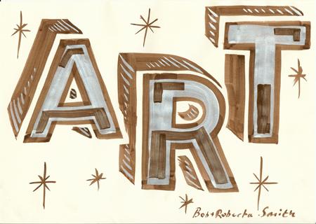 Bob & Roberta Smith, Art, 2009