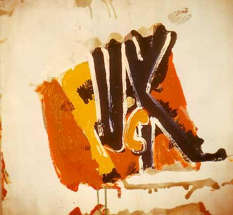 Boris Lurie, Fuck, 1973
