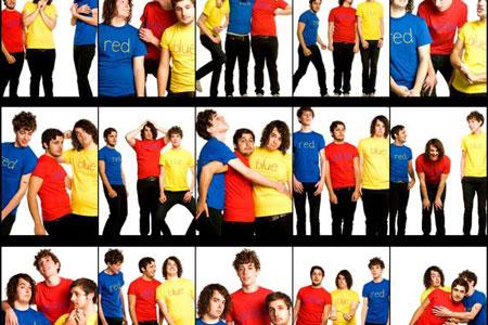 Born Ruffians, Red Yellow & Blue, 2008