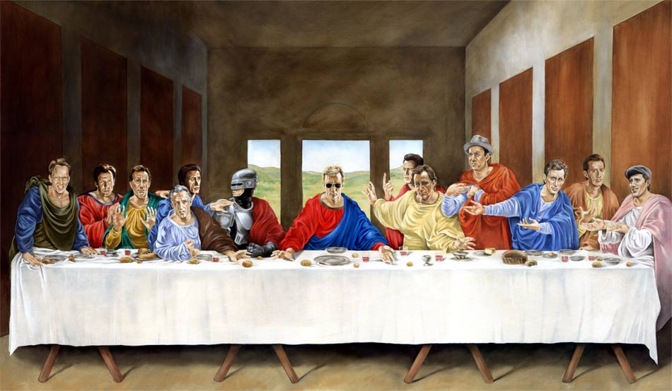 Brandon Bird, The Last Supper, 2003