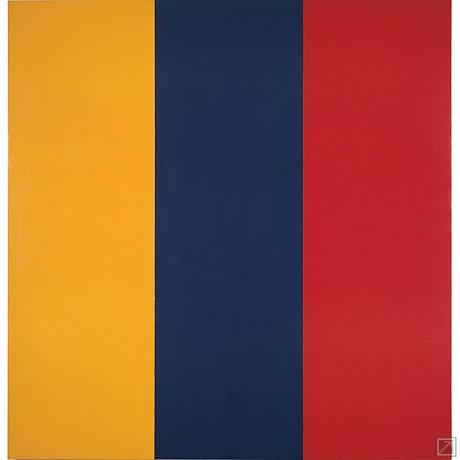 Brice Marden Red, Yellow, Blue Painting,1974