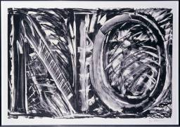 Bruce Nauman, No (Black State) 1981