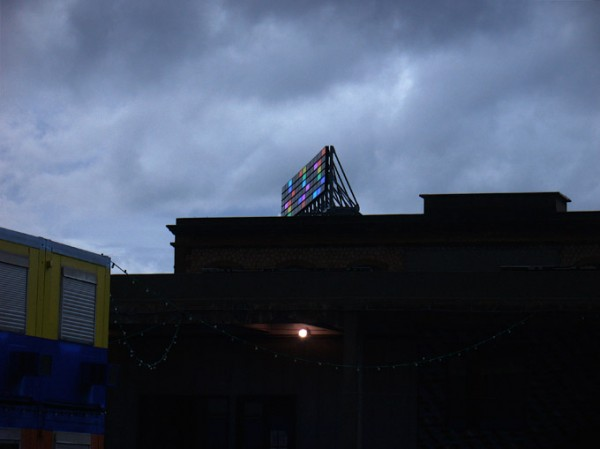 Bruno Peinado, Sans titre, le gris du ciel, 2009