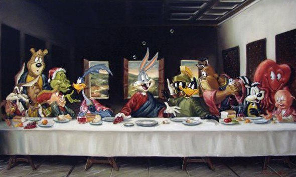 Bugs Bunny Last Supper