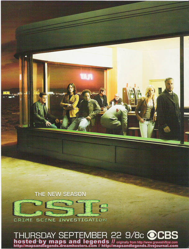 CSI (CBS), The New Season, 2006