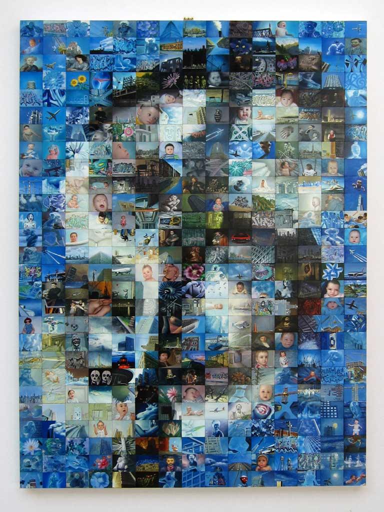 Cameron Gray, Avec A. Warhol, 2009