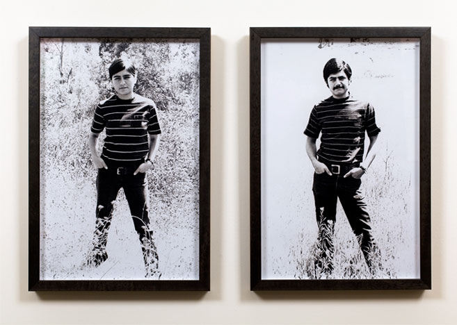 Carlee Fernandez, Self Portrait: Portrait of my Father, Manuel Fernandez, 2006