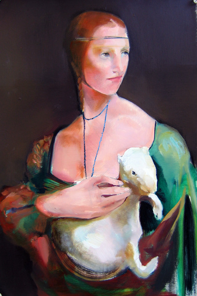 Cecelia Phillips, Lady with an ermine, 2008