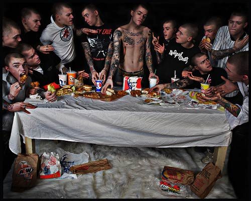 Chad Coombs, Fast Supper, 2007