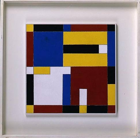 Charmion von Wiegand, Red, Yellow, Blue, 1959