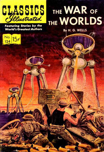 Classics Illustrated, The War of the World