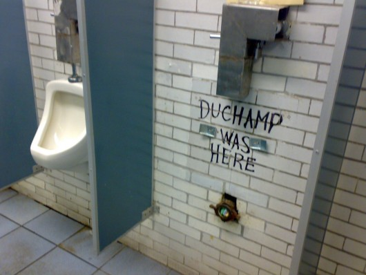Duchamp was there