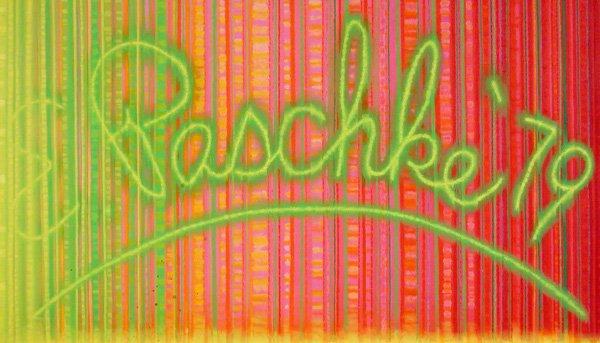 Ed Paschke, Cadmium Signature, 1979