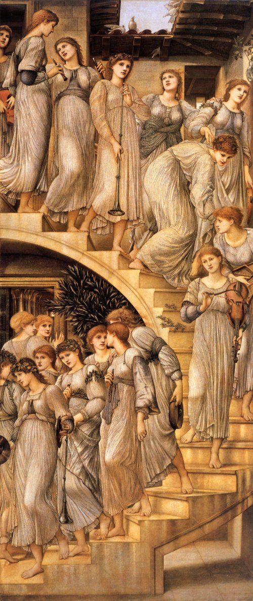 Edward Burne-Jones, The Golden Stairs, 1872-80