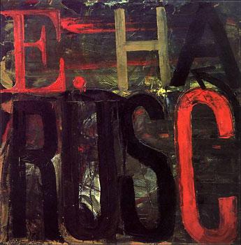 Edward Ruscha, E. Ruscha, 1959