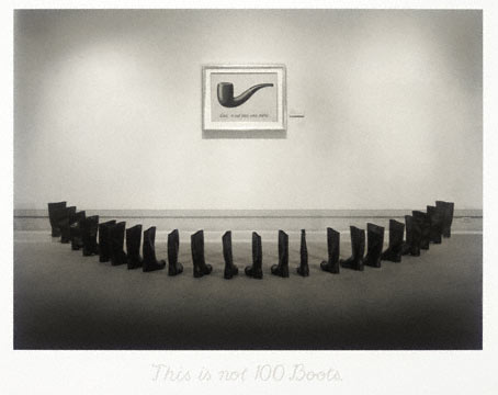 Eleanor Antin, This is not 100 boots, 2002