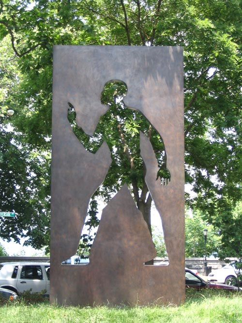 Elizabeth Catlett, Invisible Man: A Memorial to Ralph Ellison, 2003