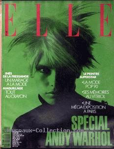 Elle No 2319, Special Andy Warhol, June 18th 1990