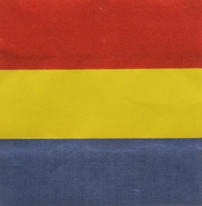 Ellsworth Kelly, Red, Yellow, Blue, 1951