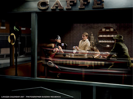 Eugenio Recuenco, for the Lavazza Calendar, 2007