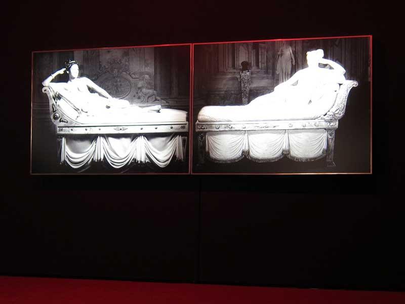 Francesco Vezzoli, La Nuova Dolce Vita (From the triumph of Paolina Borghese to Eva Mendes), 2009