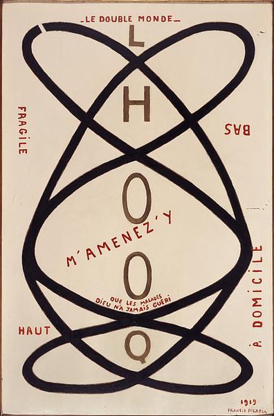 Francis Picabia, Le double monde, 1919