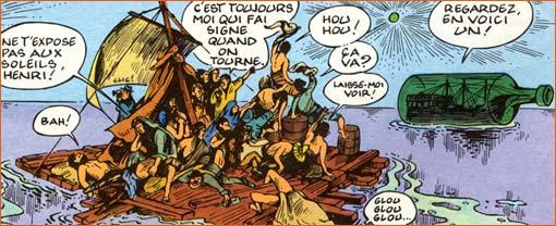 Fred, Philémon (Le naufragé du A), 1996