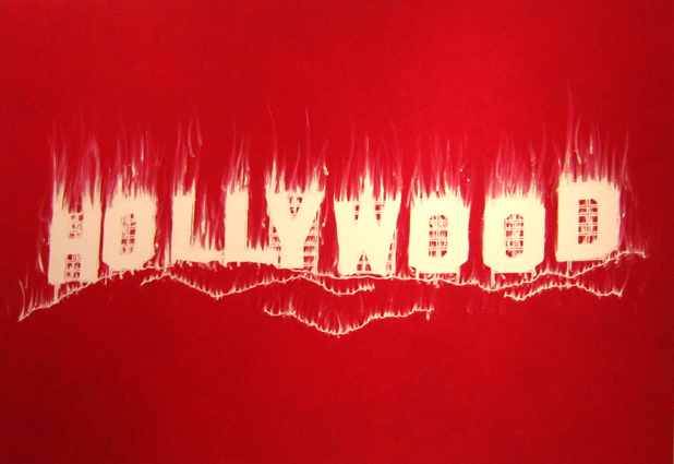 Gary Simmons, Hollywood, 2008