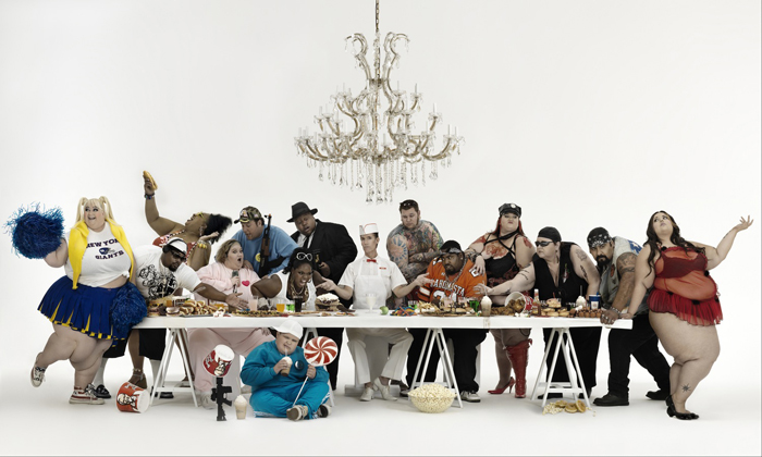 Gérard Rancinan, The Big Supper, 2008