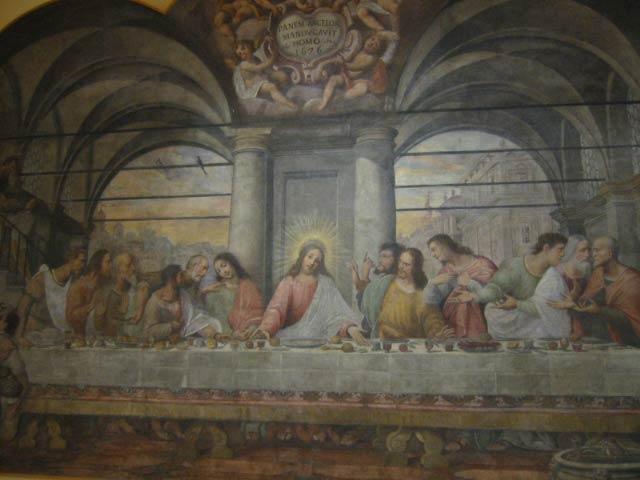 Giovanni Mauro Della Rovere, Ultima cena, 1626