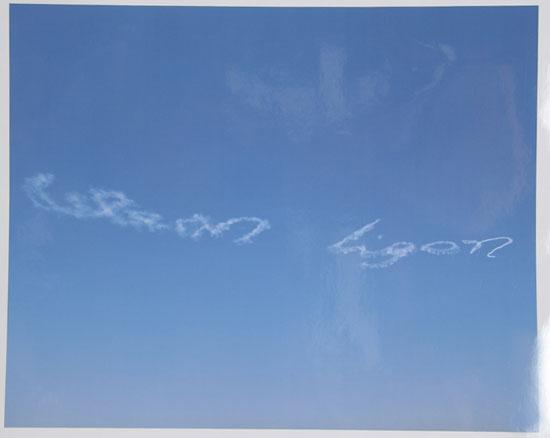Glenn Ligon, En El Cielo, 2001