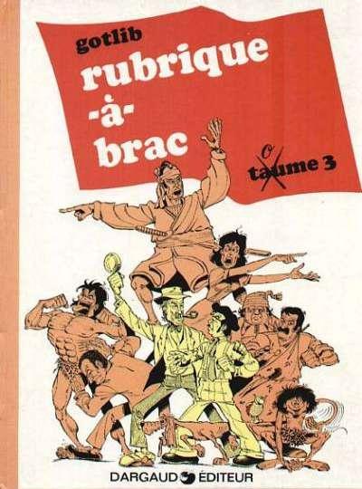 Gotlib, Rubrique-à-Brac, Taume 3, 1972