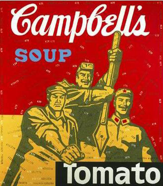Guangyi Wang, Great Criticism Series-campbells Soup, 2000