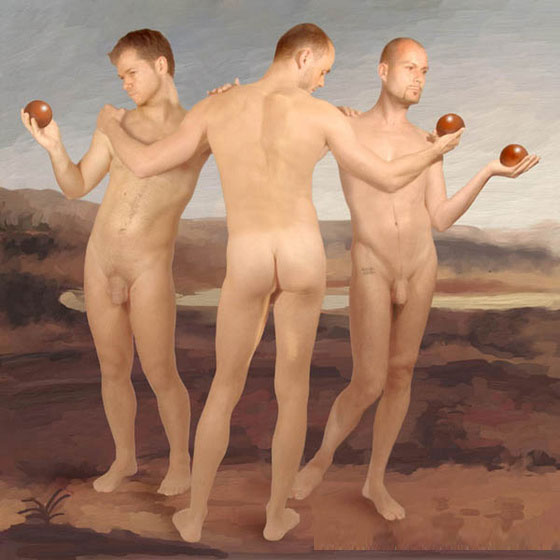Harald Seiwert, The Three Graces, 2005