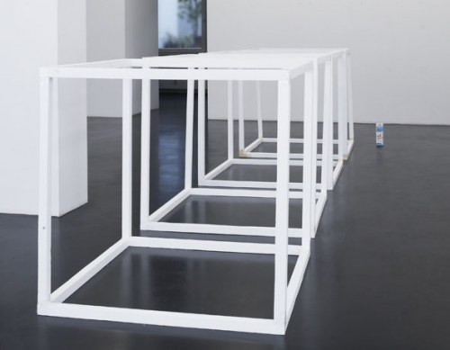 Henrik Olesen, Cubes (after Sol LeWitt), 1998-2008