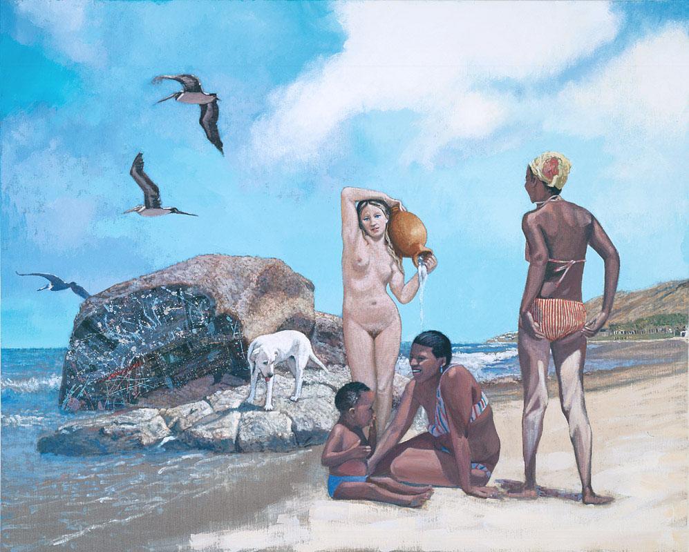 Herman Braun-Vega, Peru negro (Ingres), 2002